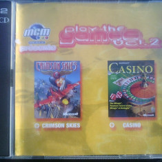Joc pc Crimson skies si Microsoft Casino (distribuite oficial in carcasa) - Jocuri PC Electronic Arts, 16+