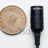 Sony ECM-55B XLR microfon lavaliera tip broadcast newscaster prezentator