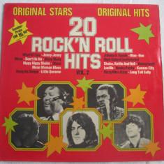 Various – 20 Rock'n Roll Hits Vol. 2 _ vinyl(LP, compilatie) Germania - Muzica Rock & Roll Altele, VINIL