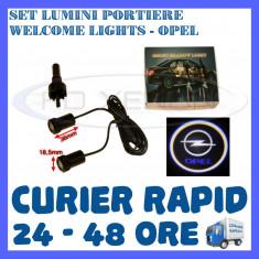 SET 2 x LUMINI LOGO LASER OPEL GENERATIA 6 (12V, CAMION 24V) - LED CREE 7W - Logo Marca ZDM