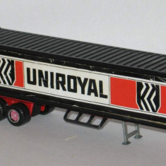 Majorette - Trailer Uniroyal 1/87 - Macheta auto Alta
