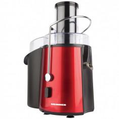 Storcator Heinner de fructe HEINNER TurboMax XF-1000PK, 1000W, 2 viteze, rosu