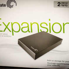 HDD extren SEAGATE Expansion 2TB 3.5 USB 3 - HDD Seagate Expansion 2 TB
