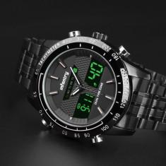 Ceas Infantry, ceas militar, ceas negru, sport, ceas digital, nou - Ceas barbatesc