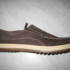 Pantofi piele barbati WINK;cod LL6164-1;marime:42-46 - Pantofi barbati Wink, Marime: 44, 45, Culoare: Maro, Piele naturala