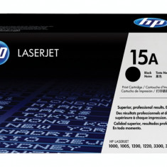 Cartus toner HP 15a Black, C7115A 2500 pagini, Original