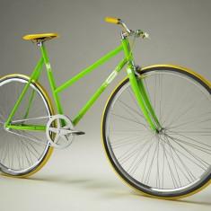 Pegas Clasic F - 3 viteze, Lime - Bicicleta retro