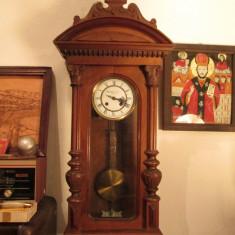Ceas de perete antic, pendula, veche, antica, Brauswetter János Szeged