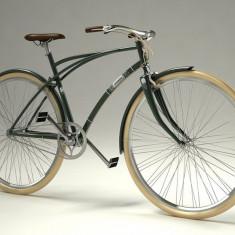 Bicicleta retro - Pegas Magistral - 3 viteze, Verde oliv