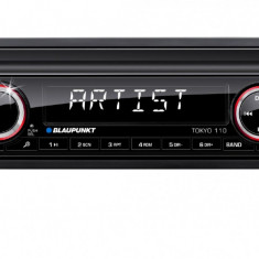 CD Player MP3 auto - Sistem auto Blaupunkt Tokyo 110, 1 DIN, AUX-in frontal; USB, card SD