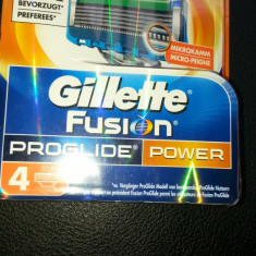 Rezerve Gillette Fusion Proglide Power set 4 buc.