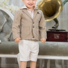 "Trusou botez - Costum botez ""Nick"" (Imbracaminte pentru varsta: 4 ani - 104 cm)"