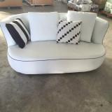 Canapea - Set canapele salon din piele 3+2+1+1