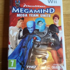 Jocuri WII Thq, Actiune, 3+, Multiplayer - JOC WII DREAMWORKS MEGAMIND MEGA TEAM UNITE SIG ORIGINAL PAL / by DARK WADDER