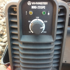 Invertor de sudura MMA Wmaster 295 PS - Invertor sudura
