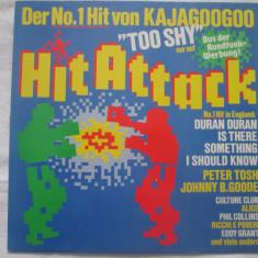 Various – Hit Attack _ vinyl(LP, compilatie) Germania italo-disco - Muzica Dance Altele, VINIL