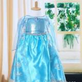 Model1 Rochita printesa Elsa rochie Frozen 3, 4, 5, 6, 7 ani