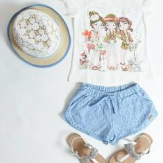 Pantaloni dantela Mayoral 3233 (Culoare: albastru, Imbracaminte pentru varsta: 2 ani - 92 cm)