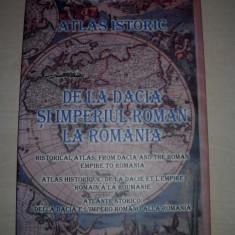 Atlas istoric de la Dacia si Imperiul Roman la Romania