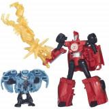 Figurina Transformers Sideswipe vs Anvil - Figurina Povesti Hasbro