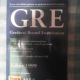 Carte hobby - G.R.E. graduate record examination Thomas H.Martinson