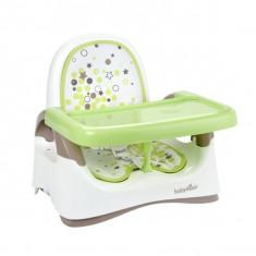 Scaun de masa bebelusi - Scaun pliabil Booster Almond / Taupe Babymoov