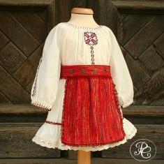 Costum botez traditional Maria (Imbracaminte pentru varsta: 2 ani - 92 cm)
