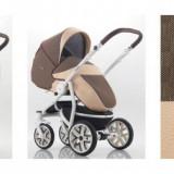 Carucior copii 3 in 1 - Carucior 3 in 1 Torino SL9 (Maro cu Bej) Bebetto