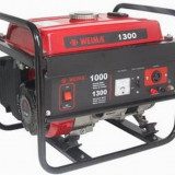 Generator curent - Weima Generator WM-1300, 1 kW, benzina, pornire manuala