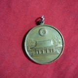 MedalieJaponia, bronz, d= 2, 7 cm, cu agatatoare, Asia