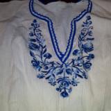 XXX IE/BLUZA MODEL DEOSEBIT ZONA ARGES/DAMBOVITA VECHIME PESTE 50 DE ANI - Costum popular