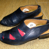 Sandale dama marca Sutor interior exterior si talpa piele marimea 36 (P311_1)