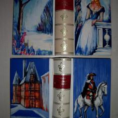Carte de lux - DUMAS - LE VICONTE DE BRAGELTONNE/ DOUA VOLUME, EDITIE DE LUX