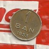 Monede Romania - Mai RAR-Moneda 1 ban 1953