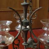 Lampa / Lustra de tavan / Candelabru cu 3 abajururi - model deosebit !!!!