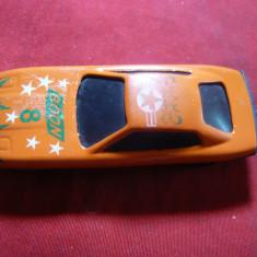Miniatura - Jucarie- Masinuta curse Boon 8 China, plastic, L=6, 8 cm - Masinuta de jucarie