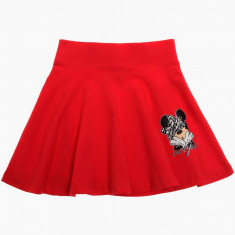 Fusta scurta Disney Minnie rosie