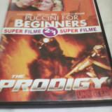 DVD SUPER FILME 2 IN 1PUCCINI FOR BEGINNERS/THE PRODIGY,SUB. ROMANA,ORIGINAL