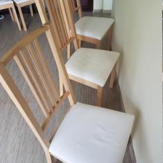 Masa bucatarie - Scaune BORJE, Gobo alb, IKEA