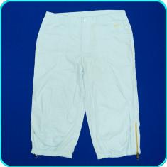 DE FIRMA _ Pantaloni ¾, de vara, panza de bumbac, calitate NIKE _ femei | D 40 - Pantaloni dama Nike, Culoare: Bleu, Trei-sferturi