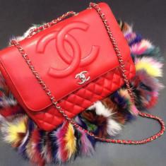 Geanta Dama Chanel, Geanta de umar, Asemanator piele - Genti Chanel Jumbo New Upgrade 2016