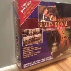 ANDRE RIEU - BLAUEN DONAU - 2CD+DVD BOX (2007/BMG/GERMANY) -NOU/Sigilat/Original - Muzica Clasica universal records
