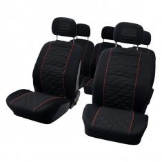 Set huse scaune auto pentru Citroen Evasion 10 bucati pentru 5 scaune separate - Husa Auto