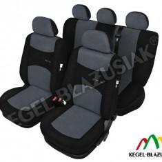 Husa Auto - Set huse scaune auto SportLine Gri pentru Opel Astra F Astra G Astra H