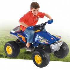 Masinuta electrica copii - ATV electric 12V Molto Albastru