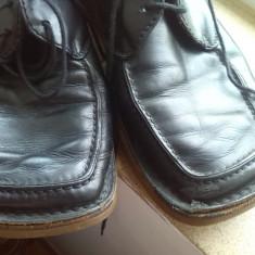 Pantofi piele italia bot de rata marime 40 - Pantofi dama, Culoare: Negru