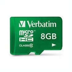 Stick USB - Verbatim Memorie USB 44042, Micro-SD, 8GB, Verbatim