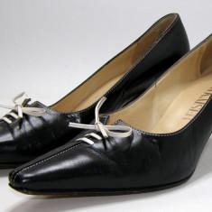 Pantofi dama Peter Kaiser piele marimea 5 ( echivalent 39.5) (P573_1) - Pantof dama, Culoare: Negru, Piele naturala