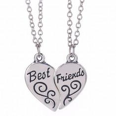Set 2 x Lantisor BEST FRIENDS Inimioara - Pandantiv fashion