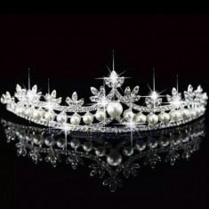 Diadema / tiara cristale pentru mireasa / printesa - Tiare mireasa